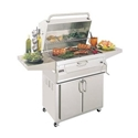 """Picture of Firemagic Stand Alone Legacy 30"""" Cabinet Charcoal Grill"""