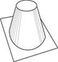Picture of IHP 8DM Low Pitch Roof Flashing 0-6/12 Pitch